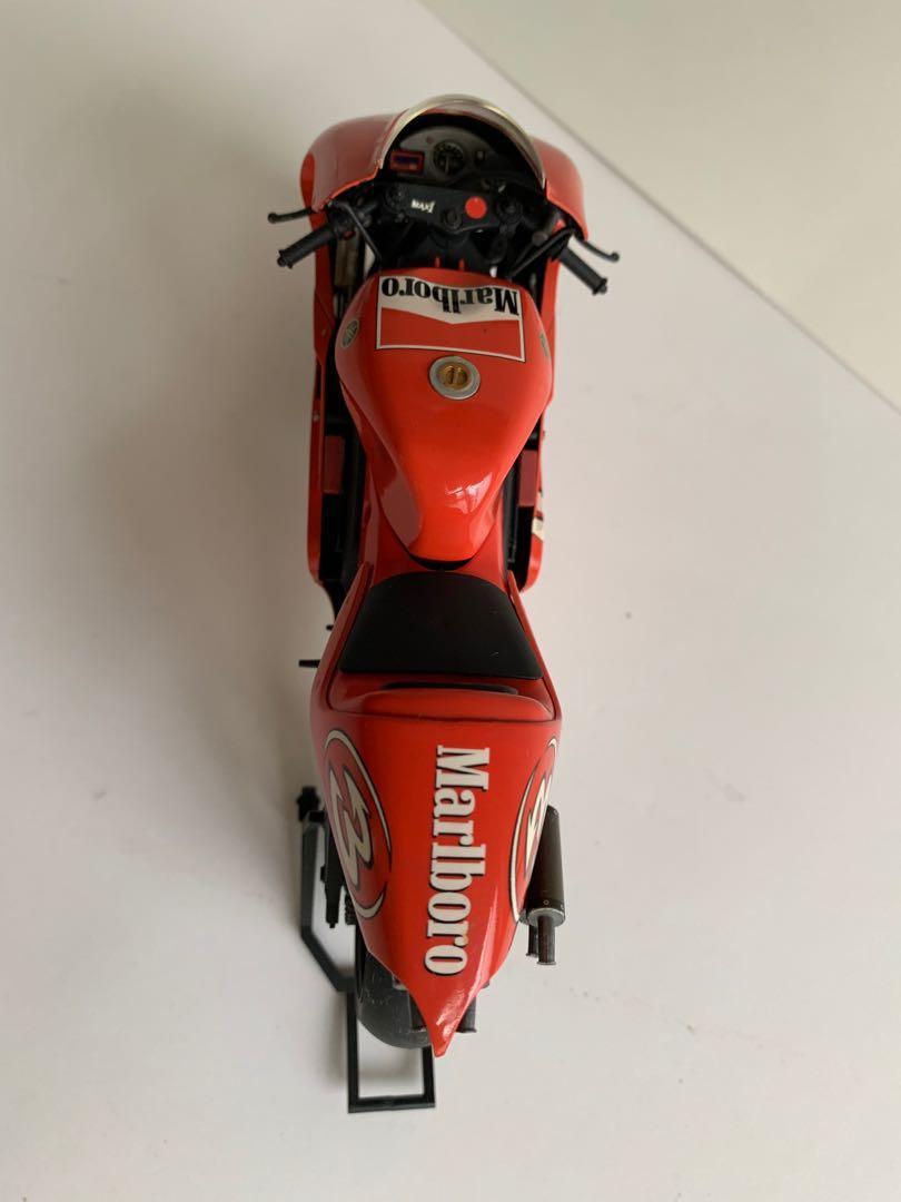 Tamiya 1/12 Yamaha YZR 500 01' + Studio 27 水貼紙 完成品