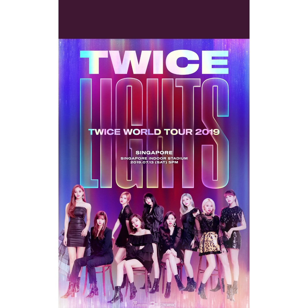 Twice 2019 Singapore Concert Entertainment K Wave On Carousell