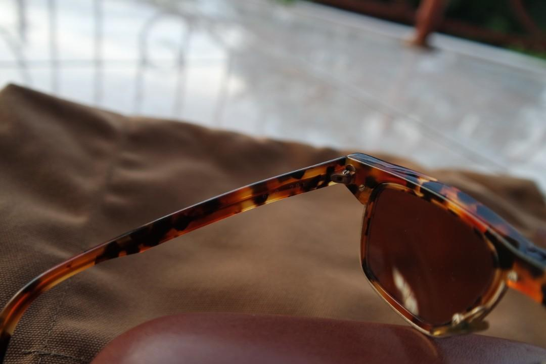 Vintage Wayfarer Sunglasses Alain Mikli not Ray Ban Gucci Moscot Oliver People