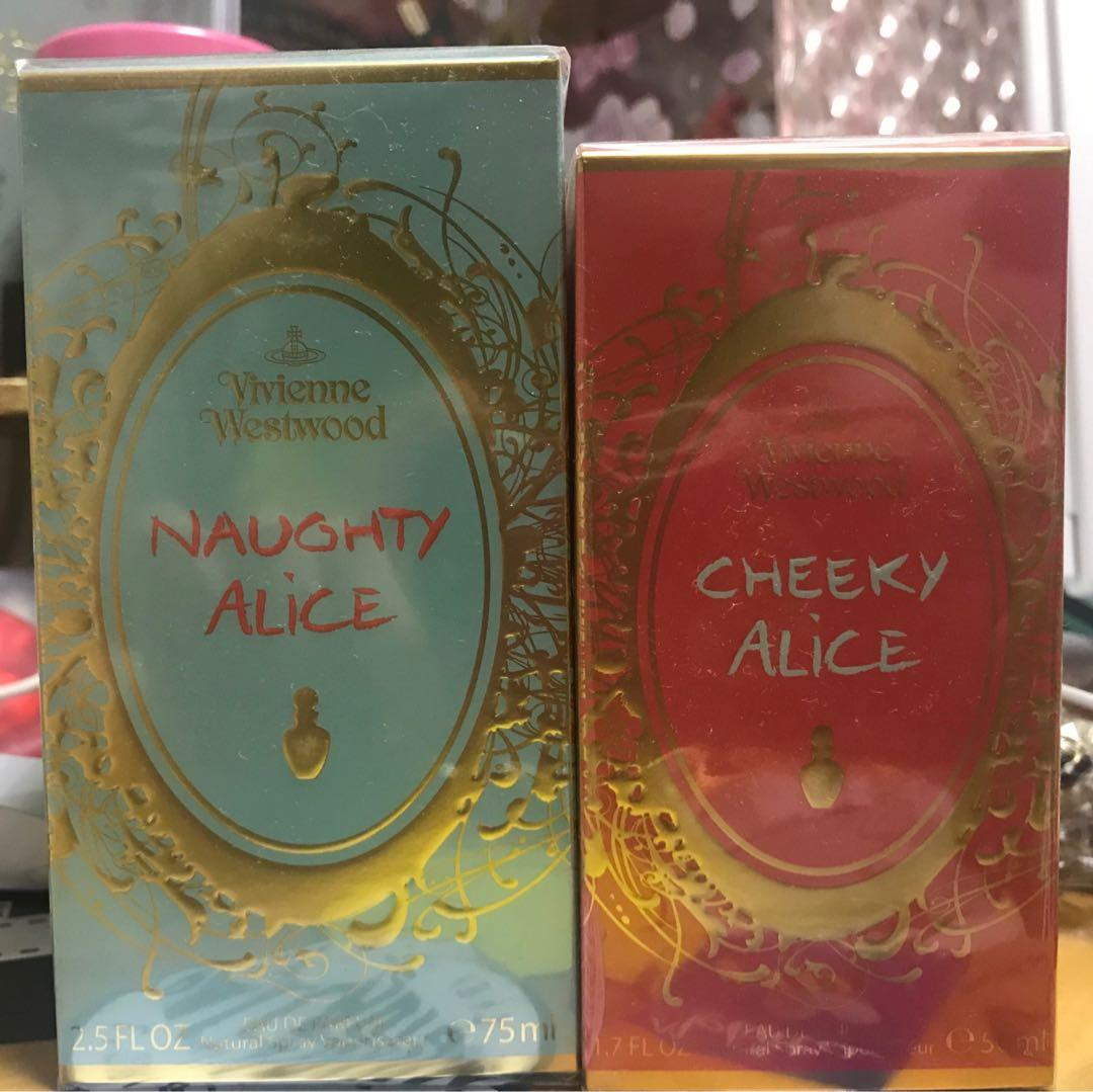 Vivienne Westwood Alice 香水 - Naughty Alice & Cheeky Alice