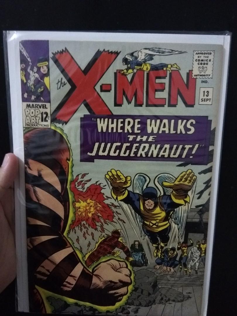 X Men 13 2nd Appearance Of The Juggernaut Books Stationery