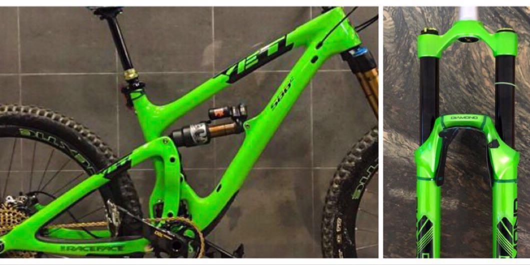 YETI SB6C (S Size) Frame + DVO Fork, Bicycles & PMDs