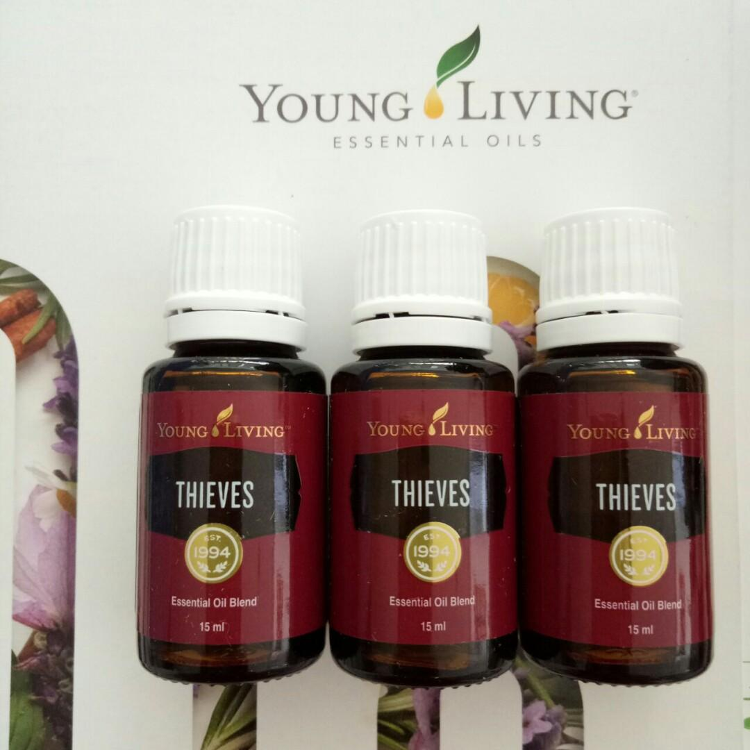 Young Living THIEVES 15ml Essential Oil BARU