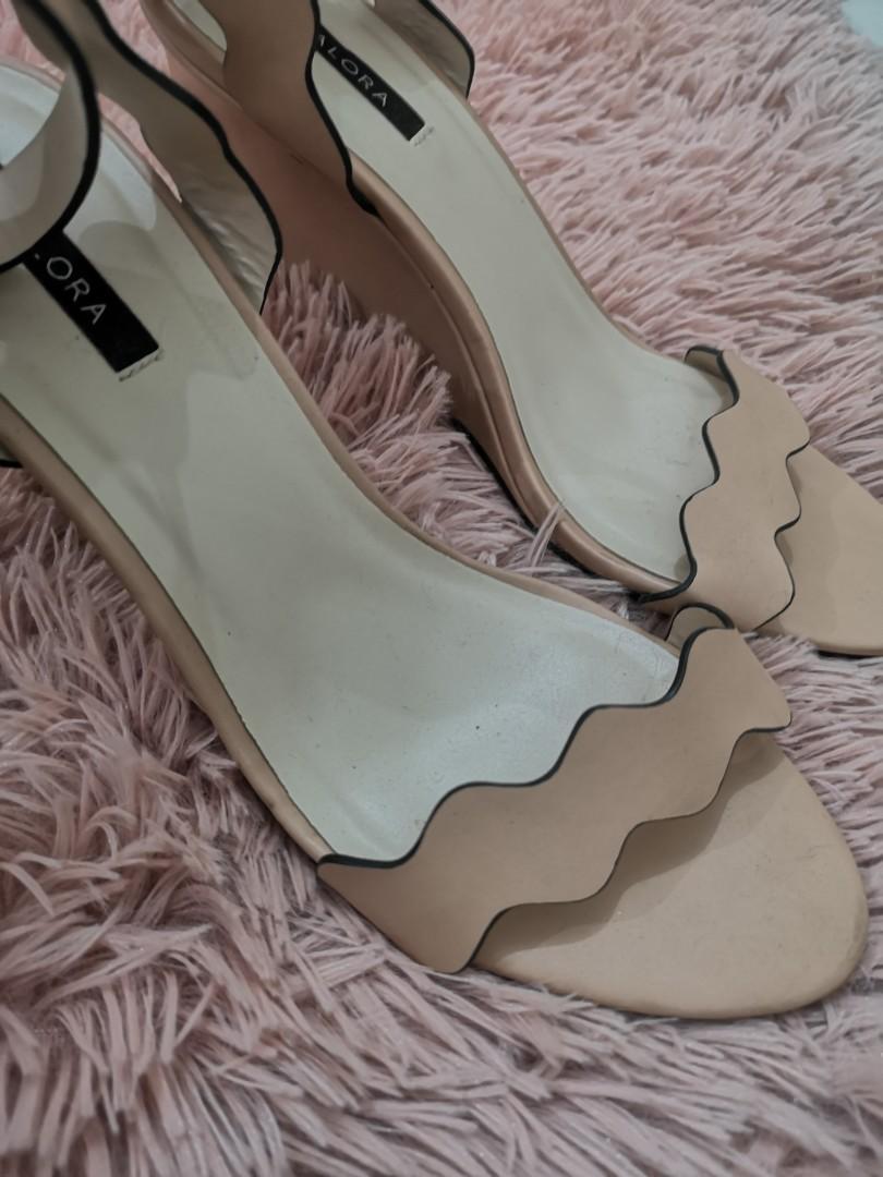 Zalora Scallop Heels