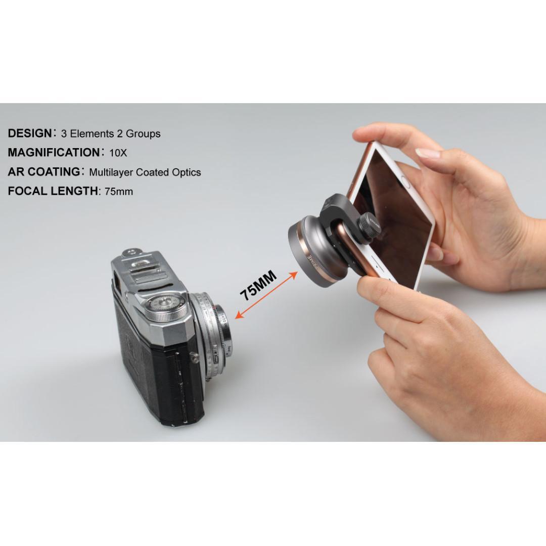 Ztylus Bokeh Macro LENS (Z-PRIME) + FREE Lens Adapter