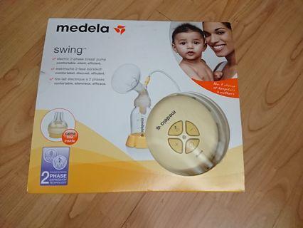 Medela swing 單泵奶泵(不連奶樽,但有額外配件)