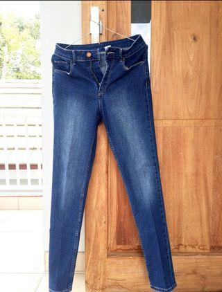 Celana Jeans HIGHWAIST H&M
