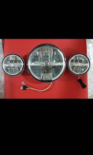 Brand New Original Harley LED headlamp & auxiliary lamp
