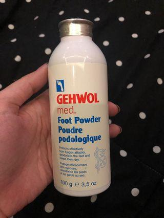 Gehwol foot powder