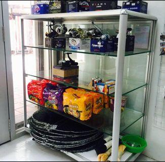 REDUCED!!! Glass Display Cabinet