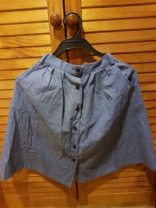 Girls Jeans Skirt