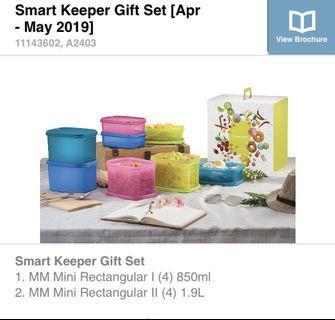 Tupperware Brands Smart Keeper Gift Set