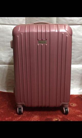 24吋 行李箱 旅行箱 桃紅色 全新品