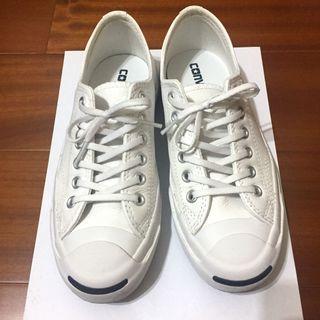 🔥限時降價 Converse Jack Purcell Leather 開口笑 皮革 帆布鞋