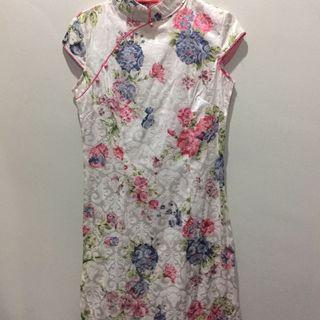 Floral Chinese Cheongsam
