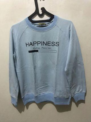 Sweater Biru Muda
