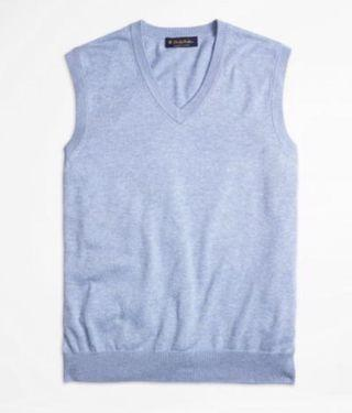 Brooks Brothers Supima Cotton Vest sized S