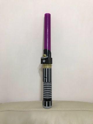 Star Wars Purple Electronic Lightsaber 星際大戰發聲發光變色激光劍