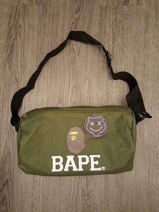 Sling bag bape a bathing ape green japan appendix magazine
