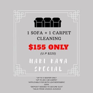 Sofa, Mattress, Carpet & Rugs, Upholstery Cleaning