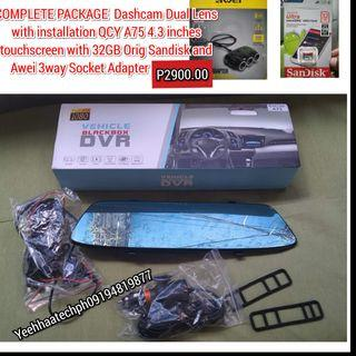 Car Dvr Dual Camera Dashcam