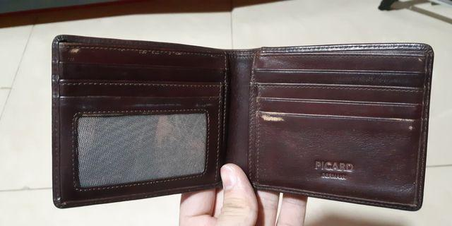 DOMPET PICARD KONDISI 80% LEATHER
