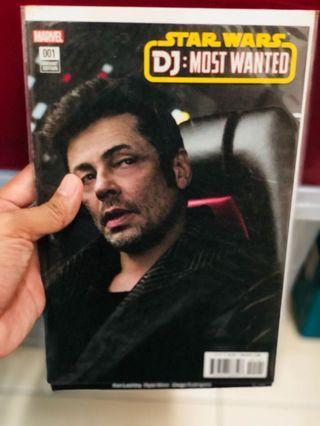 Star Wars Marvel Comics DJ Most Wanted Variant Photo Movie #1