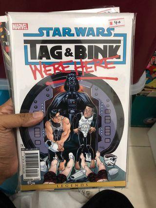 Star Wars Tag & Binks Marvel Comics Legends