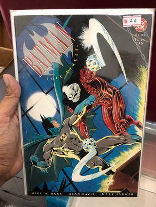 Batman Full Circle Prestige Format The Reaper One Shot Dc Comics