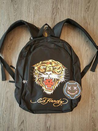 Backpack ed hardy josh tig black original