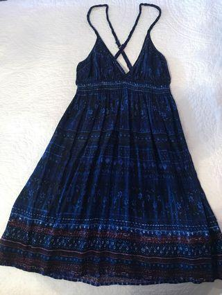 Blue Urban Outfitters Dress