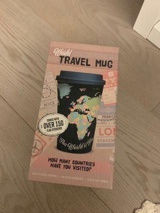 World travel mug / cup / tumbler