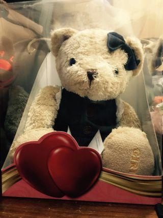 🚚 情人節&生日禮物🎁泰迪熊 熊寶貝 bear 🐻 牛仔裙版