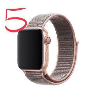 🚚 Apple Watch 原廠42或44公釐 粉沙色運動型錶環only strap