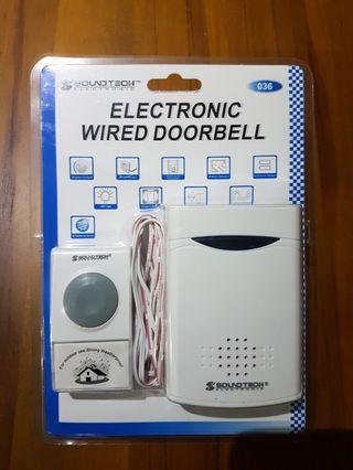 Soundtech Electronic Electronic Wired Doorbell #MRTJurongEast