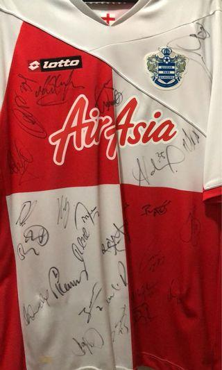 Airasia Queen Park Rangers Home Jersey Signed Whole Squad Team