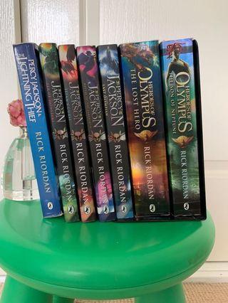Percy Jackson/Heroes of Olympus