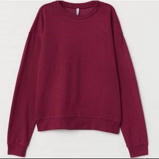 NEW Maroon Sweater by H&M
