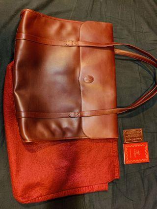 Cartier 大大大手提全皮 包包包包起來