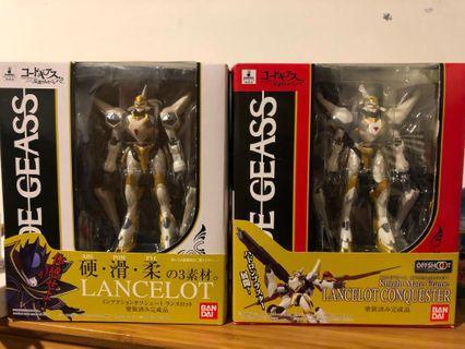 Code Geass lancelot + lancelot conquester 魯魯修 蘭斯洛特+ 蘭斯洛特征服者