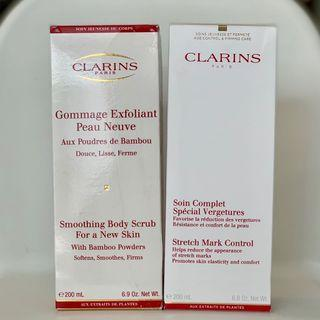 Clarins Smoothing Body Scrub & Stretch Mark Control