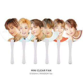 [wts/wtt] nct dream summer kit transparent handfan