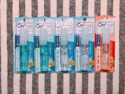 🚚 ORA2 清涼口腔噴霧 6ml 現貨清涼薄荷/汽水/葡萄柚