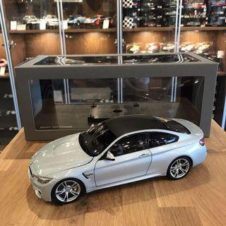 🚚 1/18 Paragon BMW F82 M4 Coupe Silver Stone model