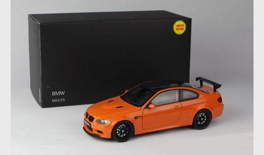 🚚 1/18 Kyosho BMW E92 M3 GTS (Orange) Diecast Car Model Limited 600