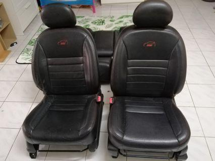 Seat leather MYVI SE