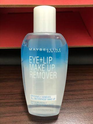 🚚 Maybelline眼唇卸妝液(70ml)
