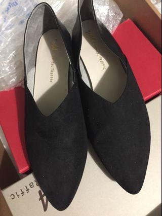 Oriental Traffic 黑色 兩著 平底鞋