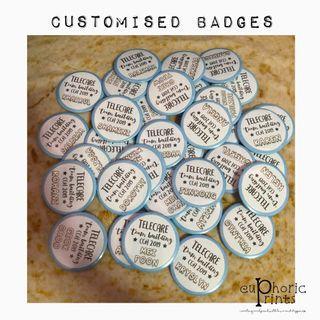 Customised / Personalised Badge