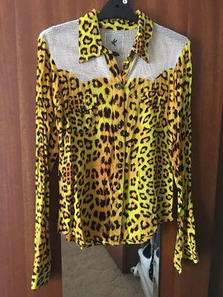 One Teaspoon leopard shirt